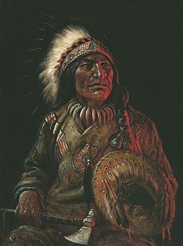"44: ""Chief Sleeping Bear"" by Astley David Cooper"