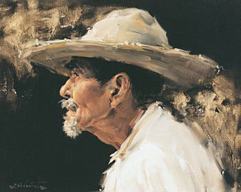 """130: """"Mexican Portrait"""" by Clarence McGrath"""