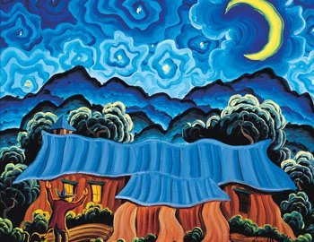 1: Kim Wiggins (b.1960), Call of the Rising Moon