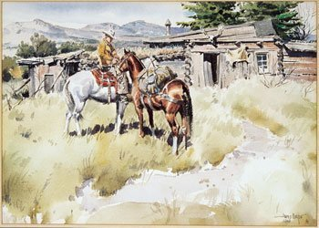 8: James Boren (1921-1990), High Country Line Camp