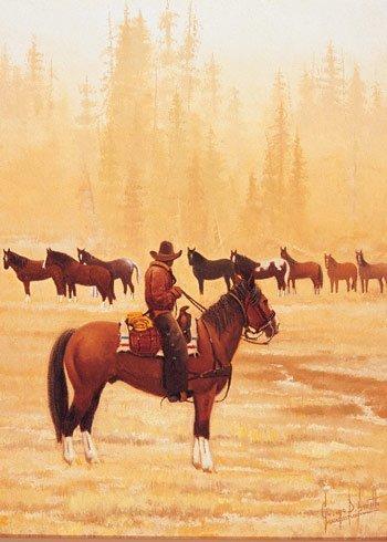 11: George D. Smith (b.1944), Morning Wrangle