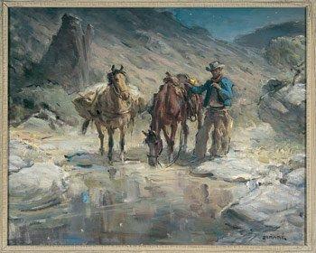 16: Ray Strang (1893-1957), Watering Hole
