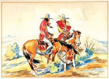 18: Fred Harman (1902-1982), Indians on Horseback