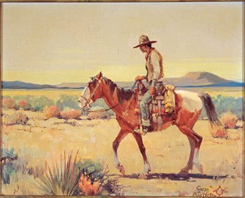 20: Gray Phineas Bartlett (1885-1951), Indian on Horseb