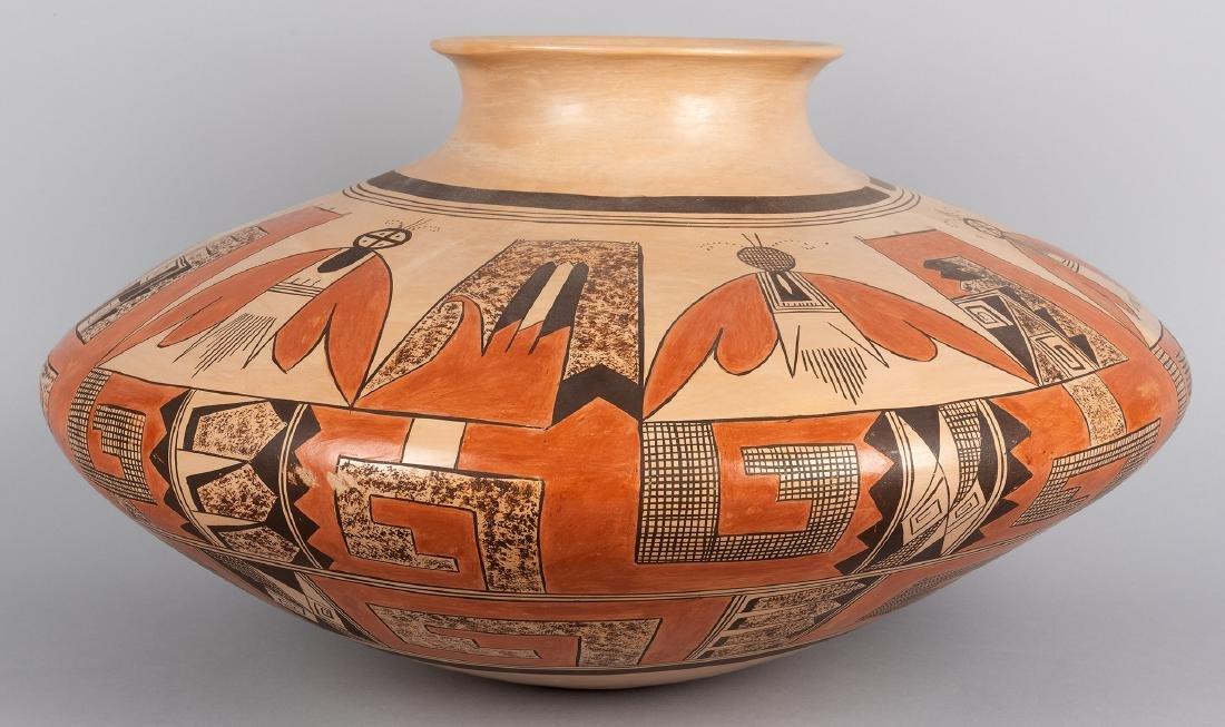 Nyla Sahmia Nampeyo | Hopi Butterfly Pot