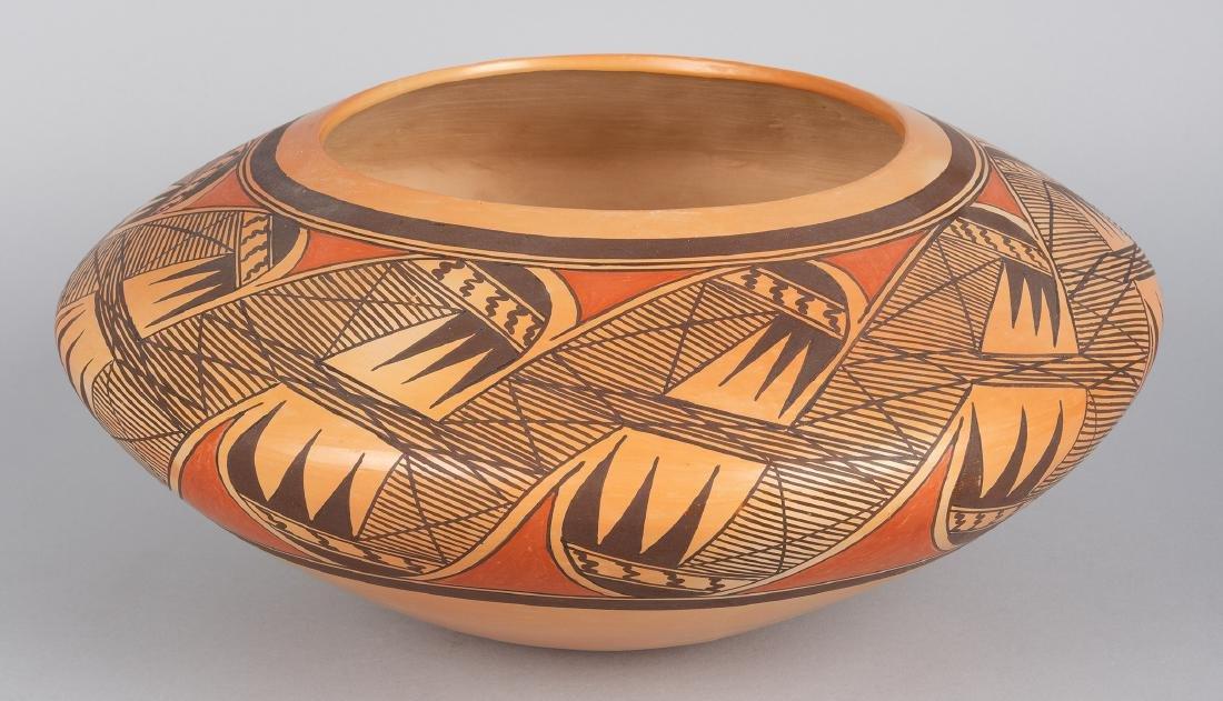 Jean Sahme (Nampeyo) | Polychrome Bowl