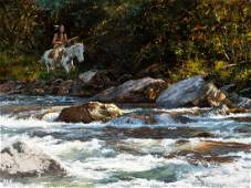 Howard Terpning | No Place to Ford