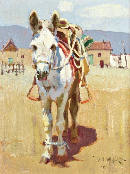 1: Moyers, John, b. 1958 CAA, Burro