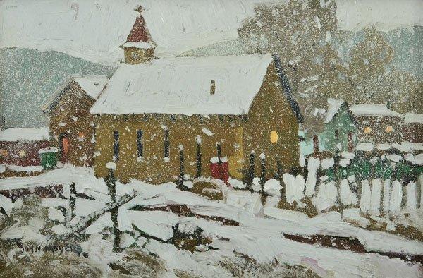 3: Moyers, John, b. 1958 CAA, Early Snow
