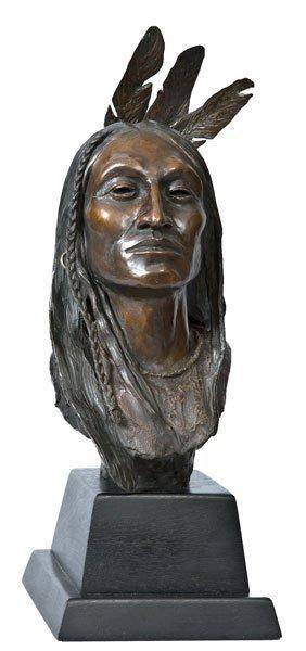 17: Beeler, Joe, 1931 - 2006 CAA, Wind in His Hair