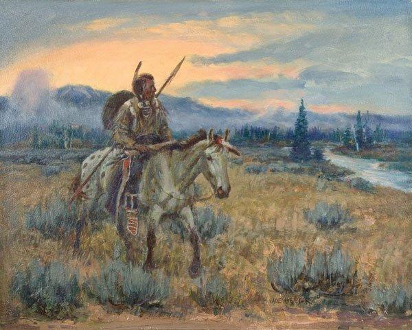 19: Beeler, Joe, 1931 - 2006 CAA, Hunting