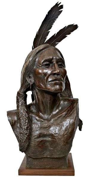 21: Beeler, Joe, 1931 - 2006 CAA, Crazy Horse