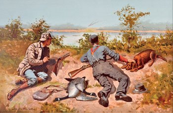 65: Remington, Frederic, 1861 - 1909 ANA, NIAL, Goosehu