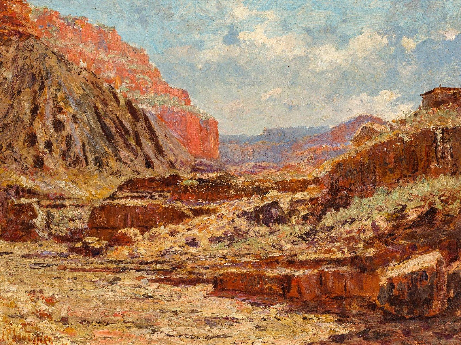 Frank P. Sauerwein | Gorge - Old Miner's Cabin