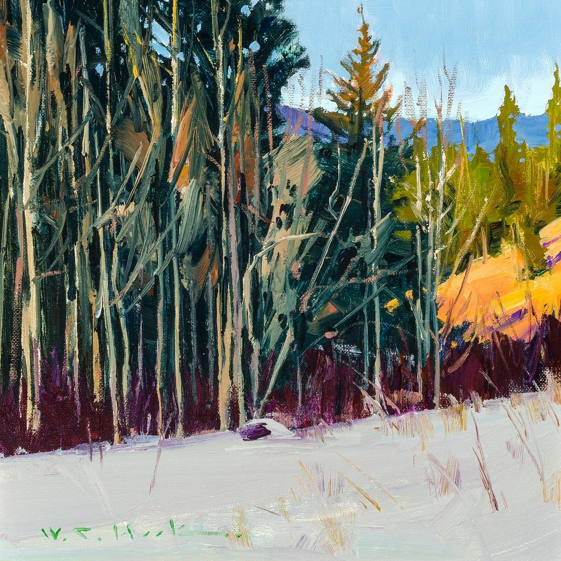 William C. Hook   February Forest