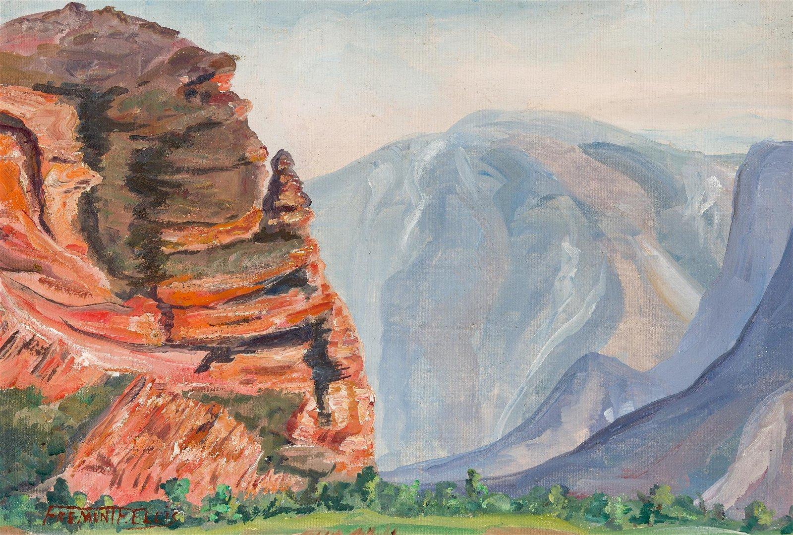 Fremont Ellis   Untitled: Western landscape