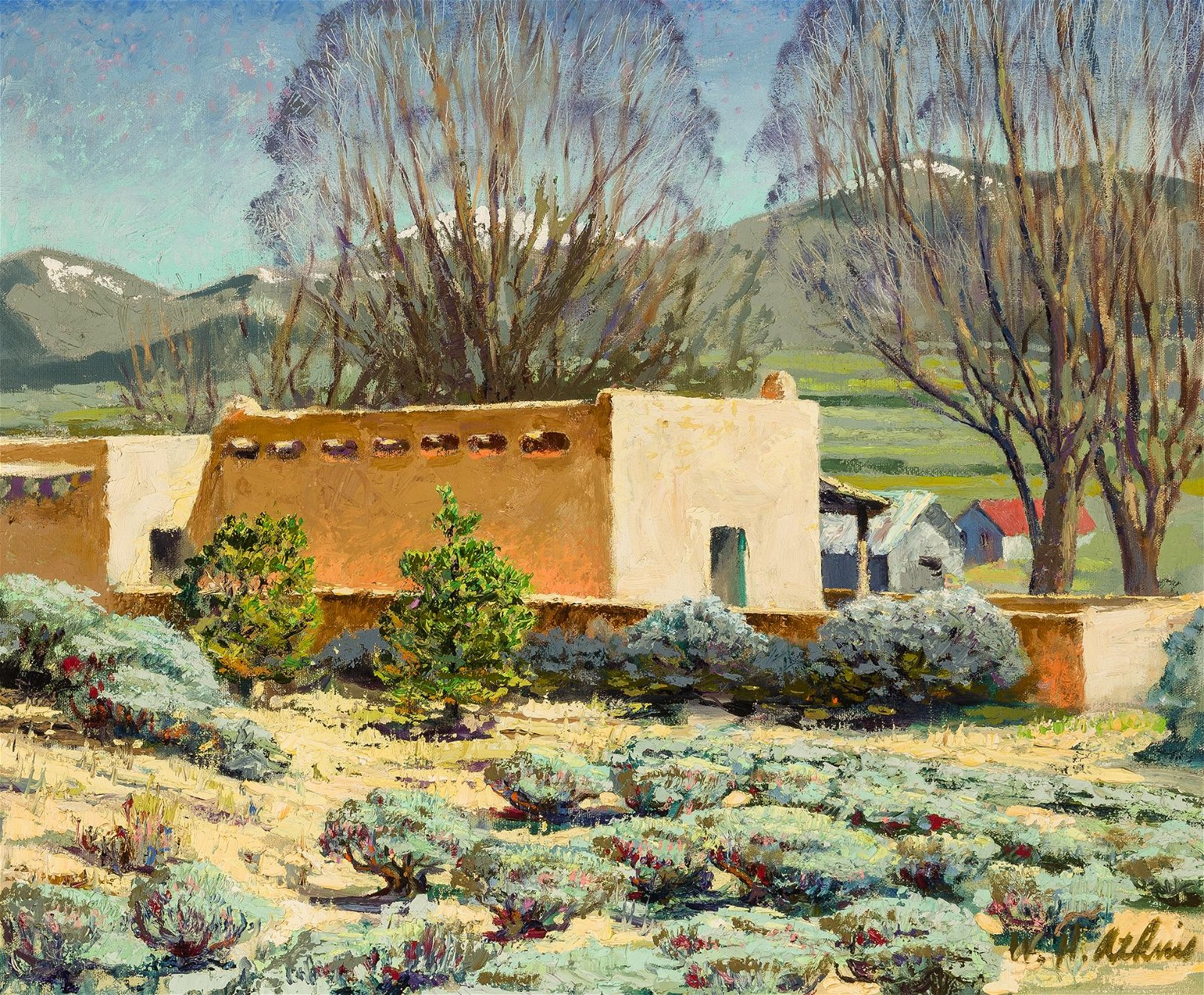 William H. Atkins | Taos Homestead