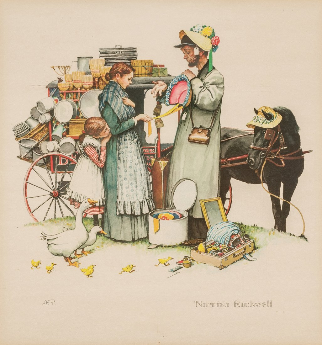 Norman Rockwell | The Country Peddler