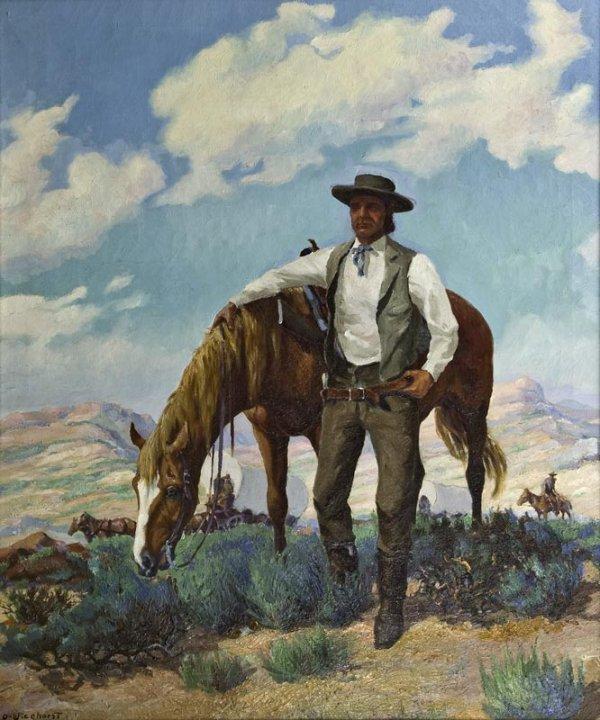 4: Olaf Wieghorst, Emigrant Trail Guide