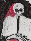 Fritz Scholder | Quartz Mountain Skeleton