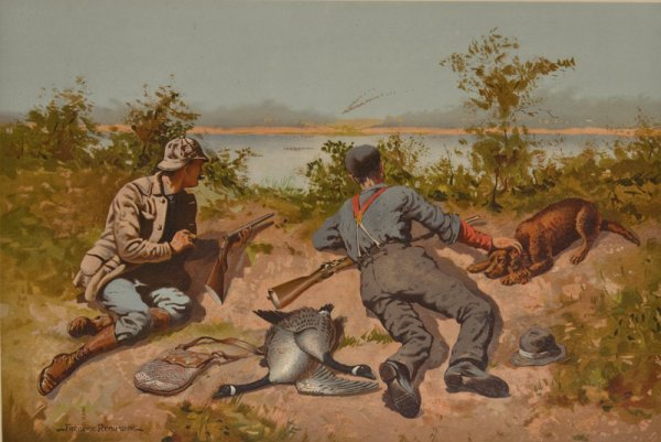 12: Frederic Remington, Wild Geese Shooting