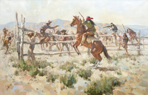 19: Carl Hantman, Attack on the Corral