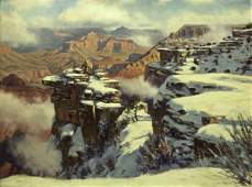 70 Winter Snow  Grand Canyon