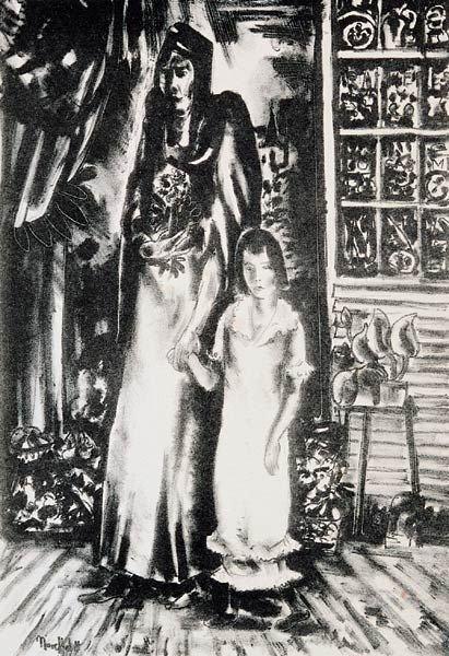 2: B.J.O. Nordfeldt ``Woman and Child``