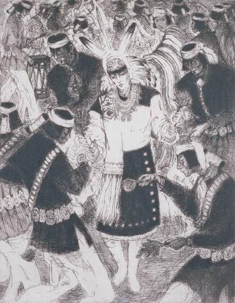 5: Gene Kloss ``Keresan Dancers``
