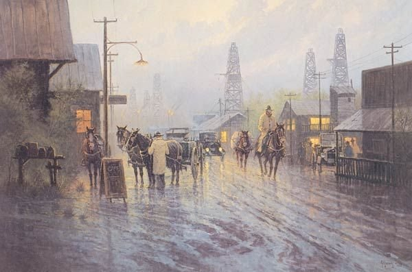 11: G. Harvey ``Leaving the Oil Patch``