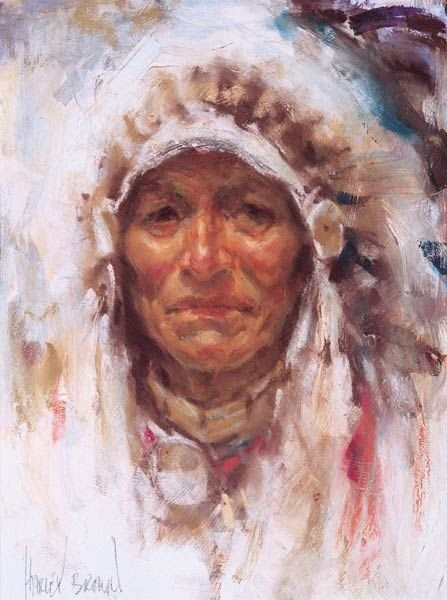 7: Harley Brown - Indian Chief