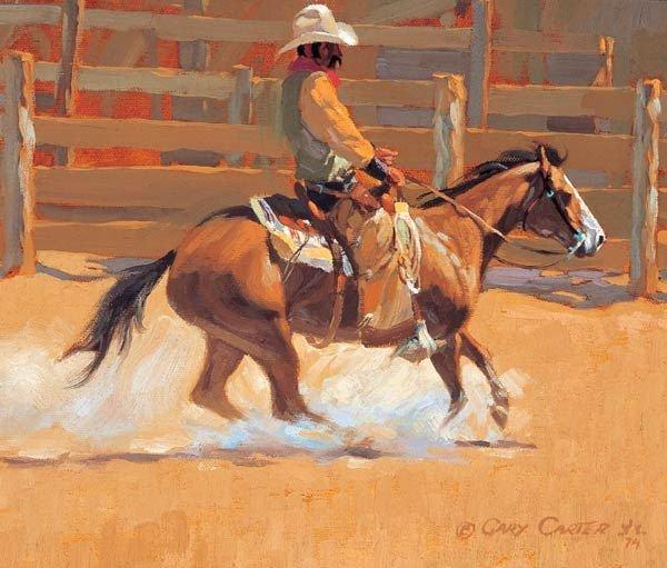 10: Gary Carter - Cutting Horse
