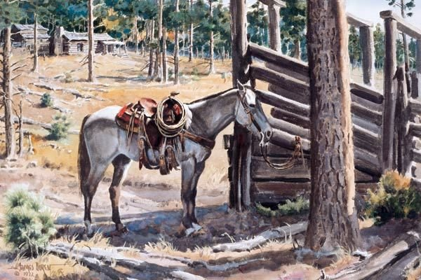 12: James Boren - By the Loading Chute