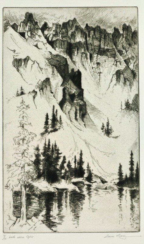 Gene Kloss    Lake Above Ophir