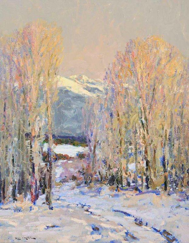 Rod Goebel    A Snowy Evening
