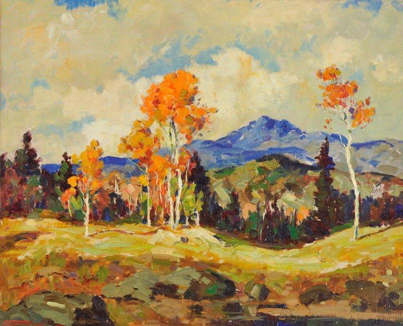 Fremont Ellis    New Mexico Landscape