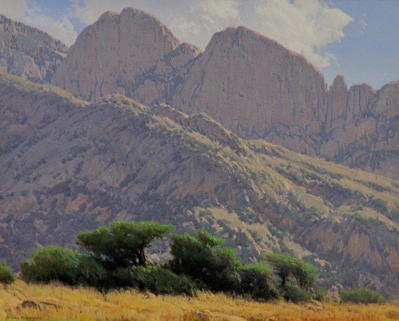 Damien Gonzales    Mountain Morning