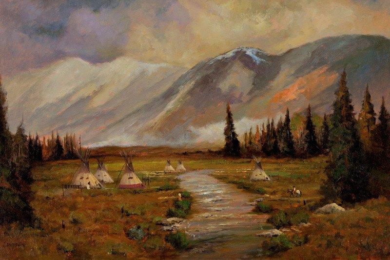Bill Mittag    Majesty of the Rockies