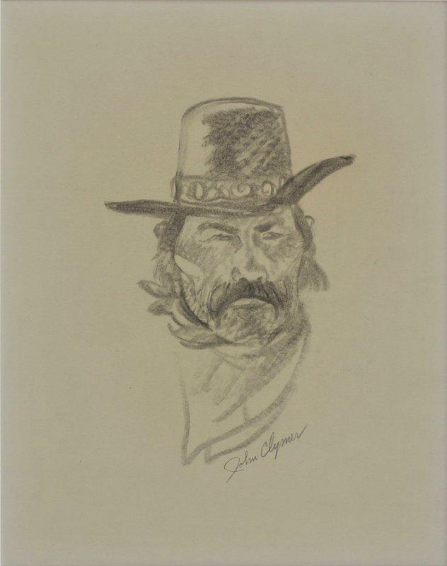 1: John Clymer   'Howdy Partner'