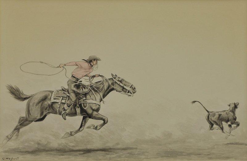 6: Olaf Wieghorst   'Roping'