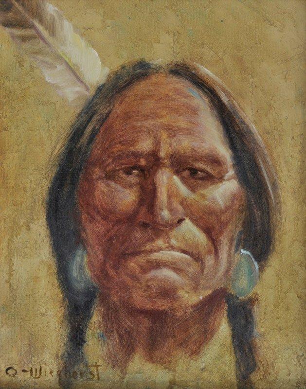 7: Olaf Wieghorst   'Plains Indian'