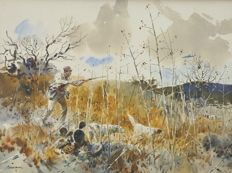 14: John Cowan   'A Portrait of a Bird Hunter'