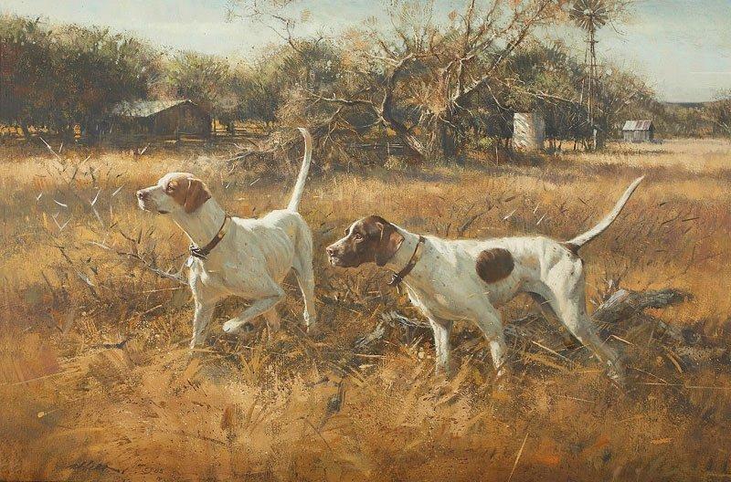 16: Robert Abbett   'On Point (Bird Dogs)'
