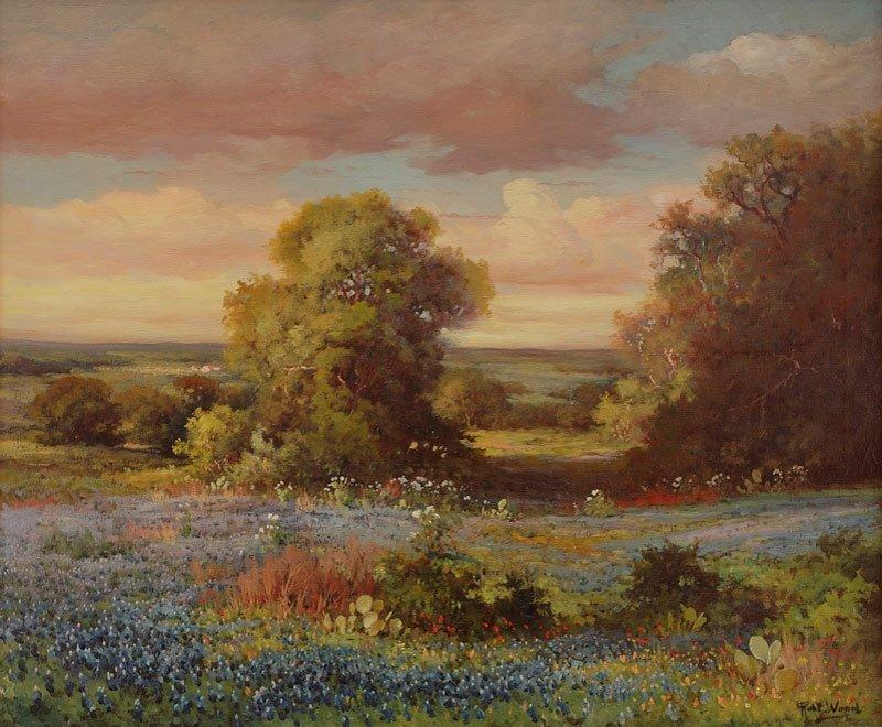 19: Robert Wood   'Texas Hill Country Bluebonnets'