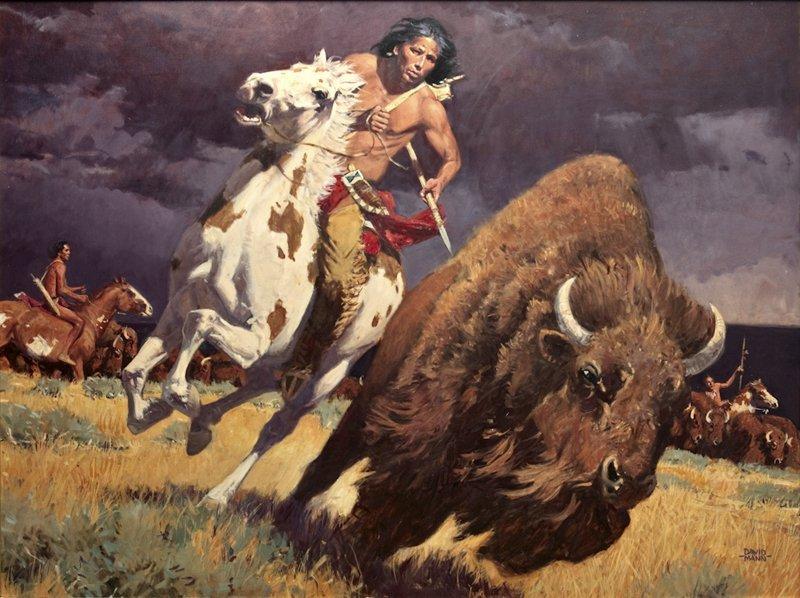 20: David Mann   'The Horse Made Him Master '
