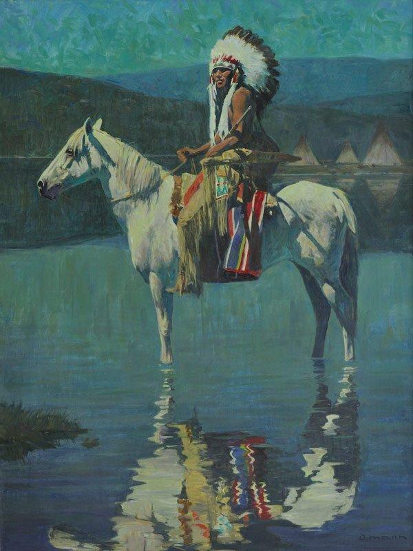 22: David Mann   'Kiowa Moon'