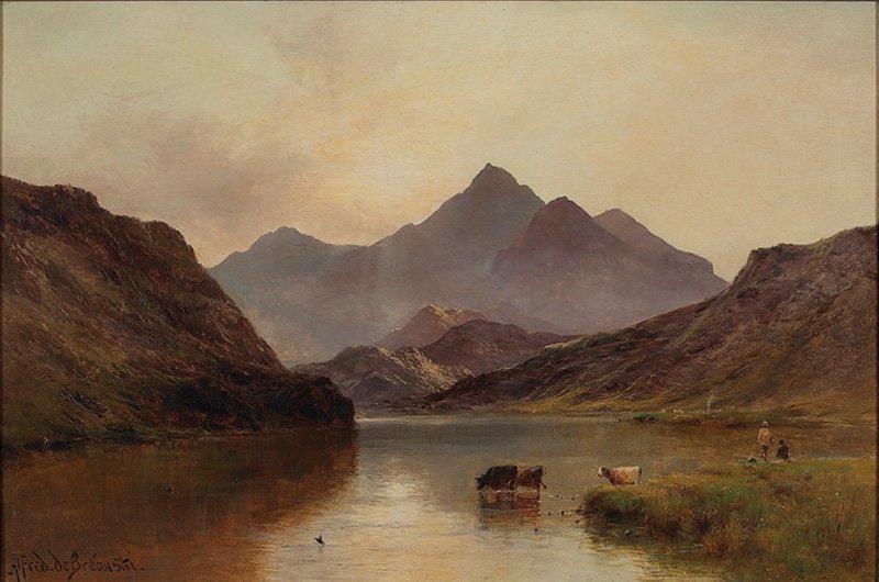 41: Alfred Fontville de Breanski Jr   'Highlands'