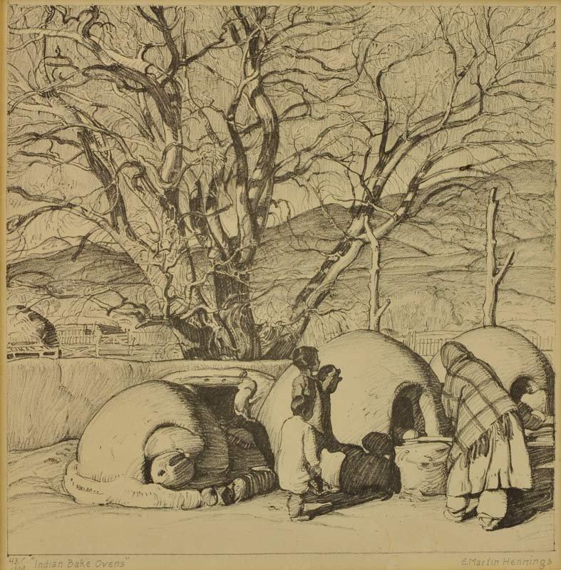 5: Ernest Martin Hennings  'Indian Bake Ovens'