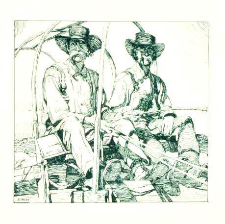 8: Ernest Martin Hennings  'Twins'