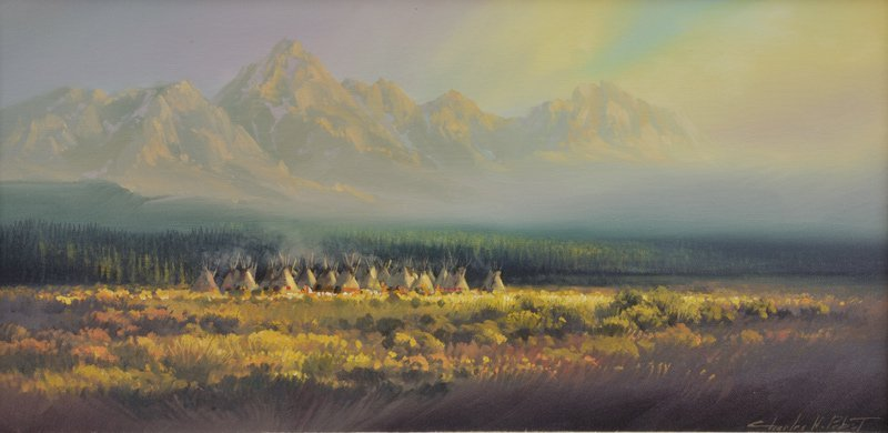 21: Charles H. Pabst  'Fall Encampment'